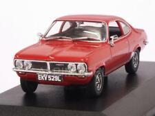 Vauxhall Firenza 1800 SL Flamenco Red 1:43 OXFORD VF002
