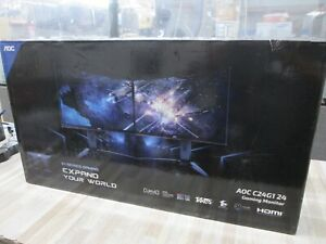 """AOC C24G1 24"""" Curved Frameless Gaming Monitor - FHD 1080p -144HZ NEW"""