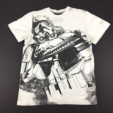 Star Wars Marc Ecko Cut & Sew Storm Trooper T Shirt White Mens Size Small