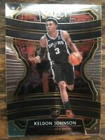 2019-20 Panini Select Keldon Johnson Concourse Base Rookie #45