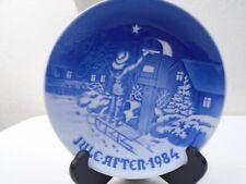 1984 Bing and Grondahl B & G Christmas Plate The Christmas Letter Mint