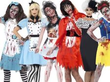 Adult Halloween Horror Zombie Fairytale Fancy Dress Outfit Costume New UK 8-22