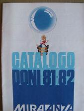 Catalogo Punti Miralanza Doni Regali 1981-82 - Ottimo e Perfetto [TR.10]