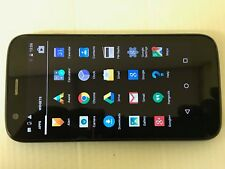 MOTOROLA MOTO G 8GB Locked to Tesco Smartphone Mobile Black & Blue