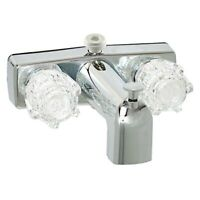*RV TUB FAUCET WITH DIVERTER SHOWER HOOKUP EMPIRE BISQUE FREE SHIPPING