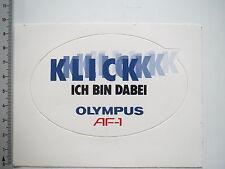 Aufkleber Sticker Olympus AF -1 - Klick Fotografie (7449)