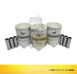 Piston Set Fits Honda Isuzu Passport Trooper 3.2 L 6VD1 DOHC SIZE 030