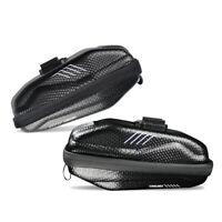 MTB Road Bike Bicycle Rear Seat Bag Shell Saddle Pouch Zippper Cycling Pannier
