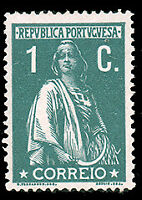 Portugal #209 MHR CV$6.50 (Chalky Paper) Ceres