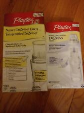 New Playtex Baby Drop Ins Liners 8-10 oz - 150 count sealed