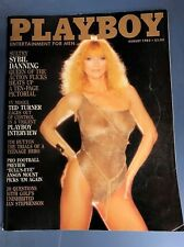 Playboy Magazine August 1983 Sybil Danning Carina Persson