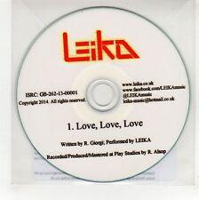 (GG449) Leika, Love Love Love - 2014 DJ CD