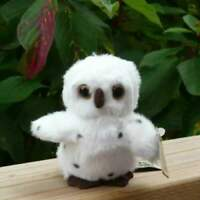 9cm Living Nature Snowy Owl Mini Buddy Soft Plush Toy Soft Stuffed Cuddly Gift