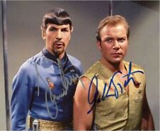 STAR TREK Leonard Nimoy William Shatner Autograph AFTAL & UACC 'Choice of 6'