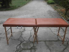 Lettino per massaggi vintage massage bed  190 cm x 60 cm letto fisioterapia