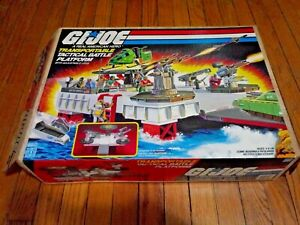 Vintage 1985 GI Joe Transportable Tactical Battle Platform