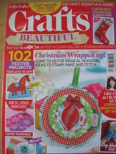CRAFTS BEAUTIFUL CHRISTMAS CRAFT MAGAZINE DEC 2014 102 FESTIVE PROJECTS CARDS