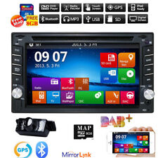 "6.2"" Car Van Radio Stereo GPS media player Touch Screen Double 2 Din iPhone DAB+"