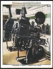 """""""Modern"""" Cinema Film Projecting Equipment c80 Y/O Trade Ad Card"""
