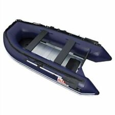 Inflatable Boat 6 Person Fishing Rafting Blue Aluminum Floor Blow Up Boat Boat