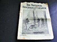 The National Stockman and Farmer Farm Paper Pittsburgh PA-Camp Photo Cover-1917.