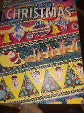 Favorite Christmas Songs and Stories The Big Treasure Book 1953 Vtg