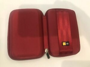 Case Logic Portable EVA Hard Drive Case QHDC – 101 In Red