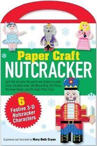 Nutcracker Paper Craft Kit (Papercraft, Paper Toy)