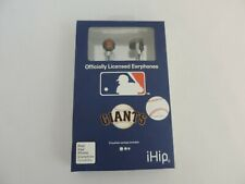 SAN FRANCISCO GIANTS Earbuds Ihip Ipod Iphone (3 Different Sizes) WORLD SERIES