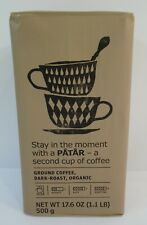 Ikea Ground Arabica Coffee Organic Dark Roast Coffee 1.1 LB / 500 g