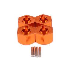 4pcs 12mm Wheel Hex Mount For RC 1:10 HPI Bullet 3.0 ST MT BMT0009 Orange