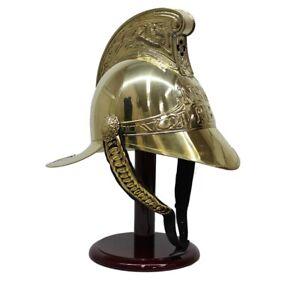 REPLICA Brass Firemans Helmet