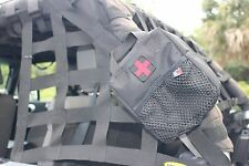 First Aid BAG & 50 Piece Aid Kit For Roll Bar Jeep Truck SUV Car Made in USA