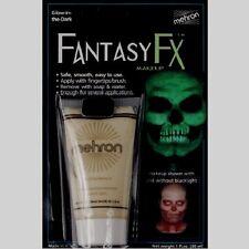 MEHRON GLOW-IN-THE-DARK FANTASY FX FACE PAINT CREAM BASED MAKEUP 1 fl. oz.
