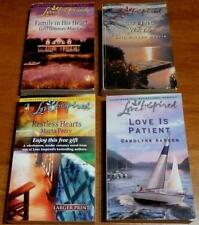 lot of 4 Love Inspired Paperbacks some UNREAD Family in His Heart Loving Ways ++