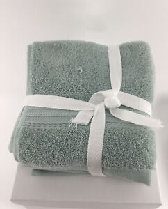 Hotel Collection 4 Cotton Washcloths NWOT