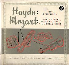 REINHOLD BARCHET / R. REINHARDT, HAYDN / MOZART 50'S LP VOX PL 9780