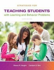 Strategies for Teaching Students with Learning and Behavior Problems, Enhanced