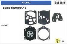 KIT SERIE MEMBRANE membrana CARBURATORE WALBRO D10-WS (D 10 WS)