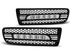 2X ANTIBROUILLARDS VW GOLF 4 LED 09.97-09.03 BLACK