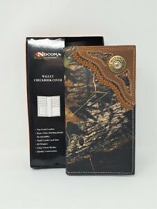 NOCONA MOSSY OAK 12 GUAGE RODEO WALLET/CHECKBOOK COVER