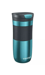 Contigo Byron Travel Mug SnapSeal Vacuum Insulated Tumbler 470ml Biscay Bay New
