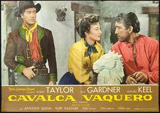 CINEMA-fotobusta CAVALCA VAQUERO a.quinn, e.gardner