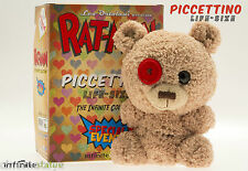 RAT-MAN Piccettino Life-Size Peluche Infinite Statue Orsacchiotto Ratman Red Eye