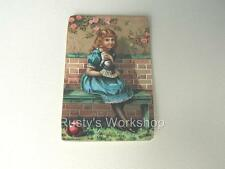 Six Reproduction ANTIQUE HANG / WRIST TAGS for Your DOLLS #6