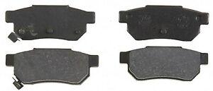 Rear Semi Metallic Brake Pads 1986-1989 Acura Integra