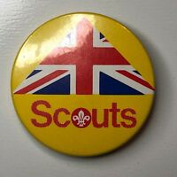 Scouts Badge union Flag Great Britain