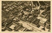 AK München, Odeonsplatz und Umgebung, Luftaufnahe von ca 1930 (?); nicht gel.
