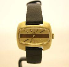 Orologio vintage da donna Mondia in acciaio dorato