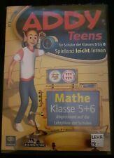 Lernsoftware Addy Teens 5.0*Mathe für Schüler Der Klassen 5 bis 8*Spielen*